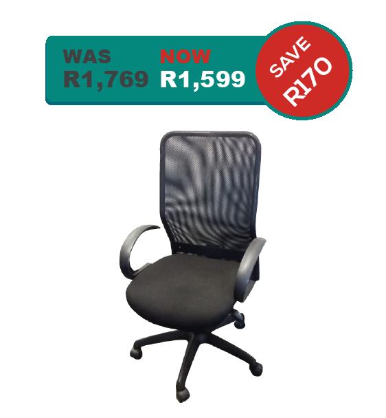 Sensational Netted High Back Office Chair Inzonedesignstudio Interior Chair Design Inzonedesignstudiocom